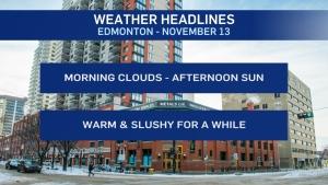 Nov. 13 weather headlines