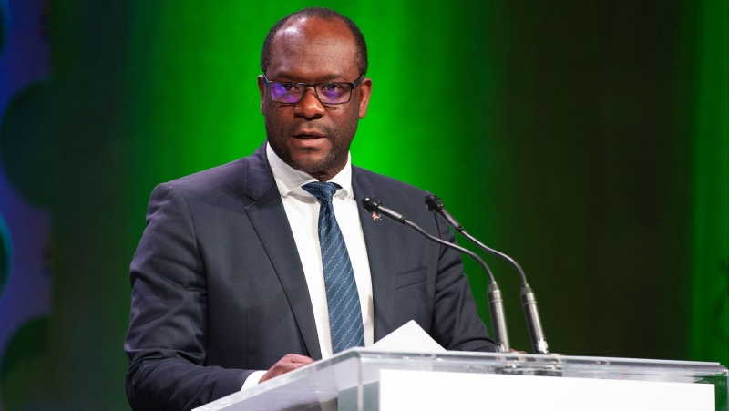 The provincial NDP are calling for an apology from Alberta Justice Minister and Solicitor General Kaycee Madu regarding pandemic-related comments he made on social media. (file)
