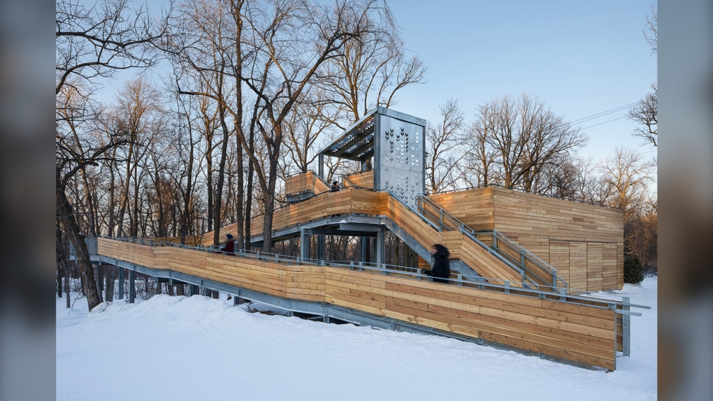 St. Vital Park toboggan slide wins international awards