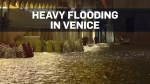 Highest tides in 50 years sweep through Venice, It