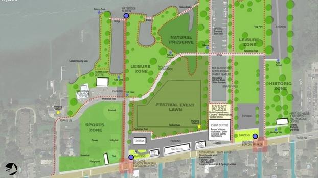 LaSalle waterfront plan