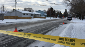 Police are investigating the suspicious death of a female near 133 Avenue and 140 Street.