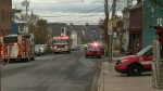 Fire forces closure of Halifax streets