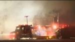 Barn fire kills livestock