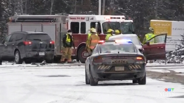 Two-vehicle crash on Bruce Avenue in South Porcupine - CTV News