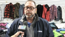 Winter clothing being distributed in Sudbury