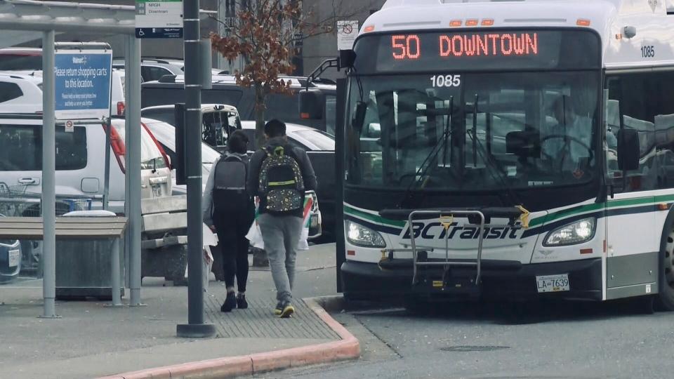 Nanaimo transit