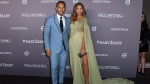 John Legend, right, and Chrissy Teigen arrive at the 2019 Baby2Baby Gala on Saturday, Nov. 9, 2019, in Culver City, Calif. (Photo by Jordan Strauss/Invision/AP)