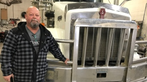 Trucking instructor Brent Kostyk says he's seeing fewer new drivers since changes to provincial regulations.