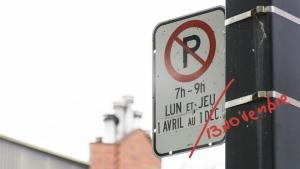 Certain parking restrictions in the Ville-Marie borough of Montreal have been lifted a couple week early. (Photo: Groupe CNW/Ville de Montréal - Arrondissement de Ville-Marie)