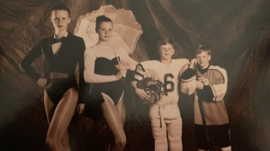 Jon Ryan and his siblings (Supplied: Barb Ryan)