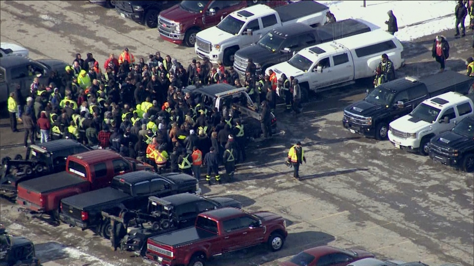 Hundreds of tow truck drivers gathered in Pickering Wednesday to honour the life of Beverly Todd Burgess. The 56-year-old tow truck driver was killed while helping a stranded driver Thursday.