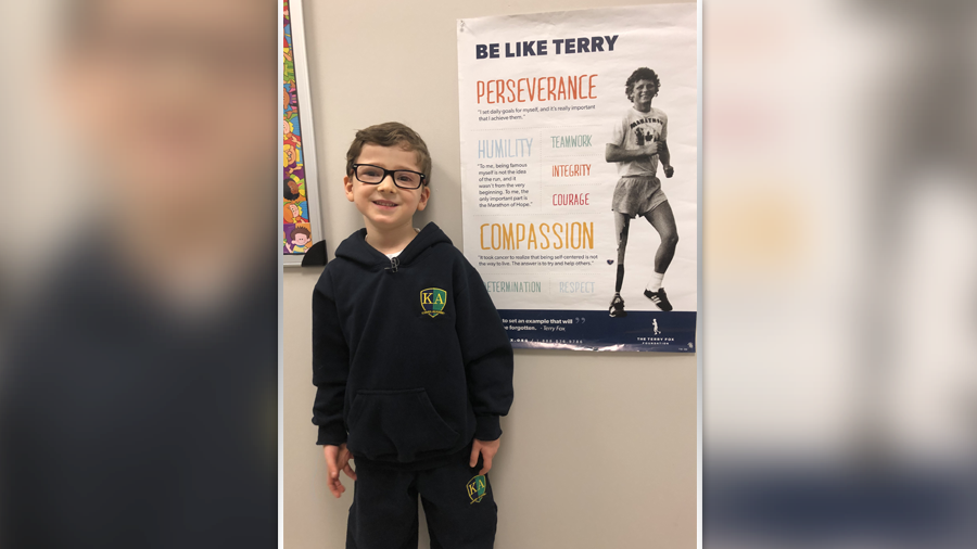 'He's my hero': A Kanata boy's love of a Canadian icon will warm your heart