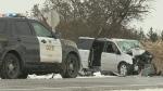 One person has died in a devastating crash involvi