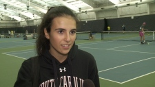 Local 17-year-old climbing world tennis ladder