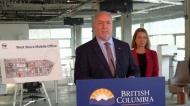 Horgan unveils new government offices in Langford