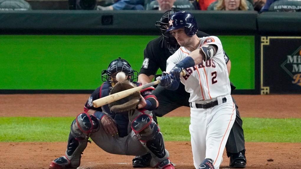 Houston Astros' Alex Bregman