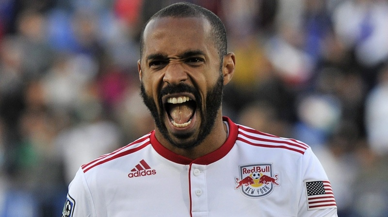 Thierry Henry named new head coach of the Montreal Impact