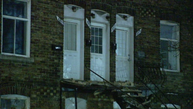 Bricks fall from building in Verdun, residents evacuated - CTV News