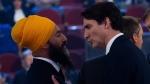 Trudeau, Singh