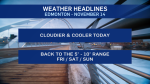 Nov. 14 weather headlines