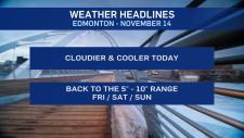 Nov. 14 weather headlines