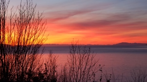 Sunset at UBC. (Kristine Bernardo photo)