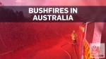 Firefighters battling deadly bushfires in Australi