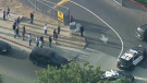 Multiple victims after shooting at California high