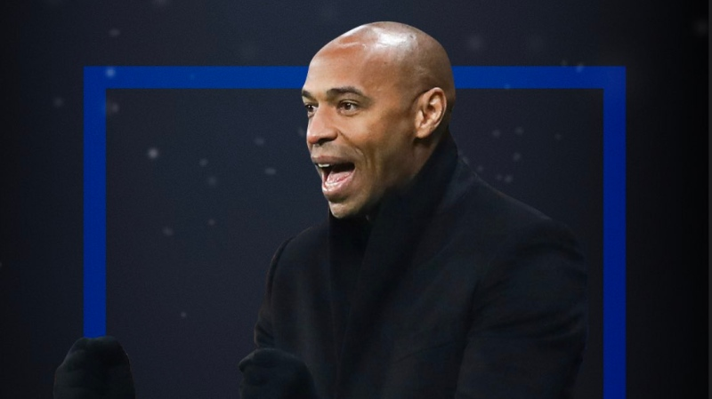 Thierry Henry has been named the new head coach of the Montreal Impact. (Credit: Impact de Montréal)
