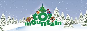 Toy Mountain Landing Page