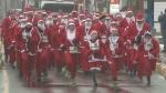 Annual Santa Run for Mental Health