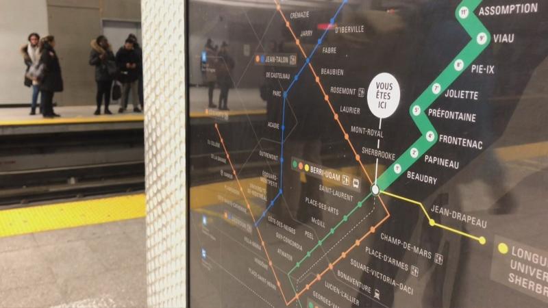 Montreal metro generic STM