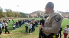 Police at school shooting
