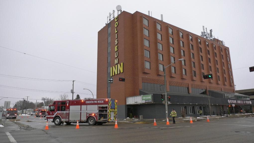 Coliseum Inn, Nov. 14, 2019, fire, evacuation