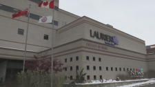 From CTV Kitchener's Heather Senoran: Laurier is r