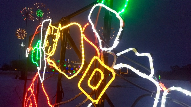See thousands of lights at Enchanted Forest starting Friday - CTV News