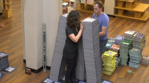 Victoria bookstore attempts Guinness World Record