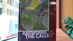 """Answering the Calls: A Child's View of the 94 Calls to Action"" is seen in this image."