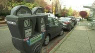 Vancouver parking meter