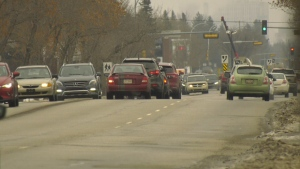 Edmonton, roads, cars, traffic