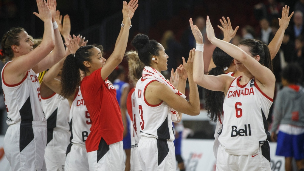 canada women's basketball