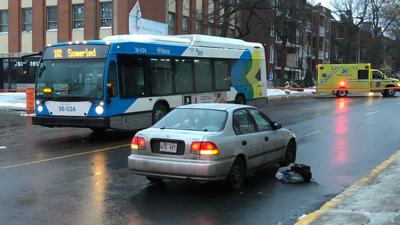 A pedestrian is dead after being hit by a car in Montreal's NDG neighbourhood.