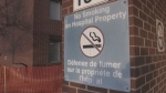 New Brunswick health authorities are asking Moncton to consider a smoking ban on city-owned land outside the Moncton and Dr. Georges-L.-Dumont hospitals.