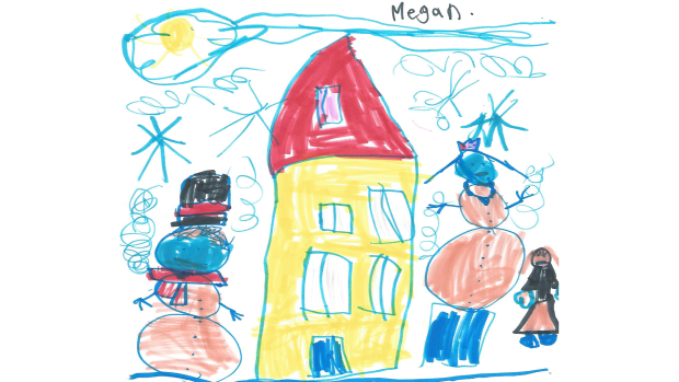 Megan Campbell, 6 years old, grade 1, St. Philip School, Richmond