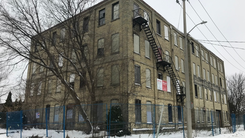 The former Electrohome could have occupants again by 2025. (Dan Lauckner / CTV Kitchener)