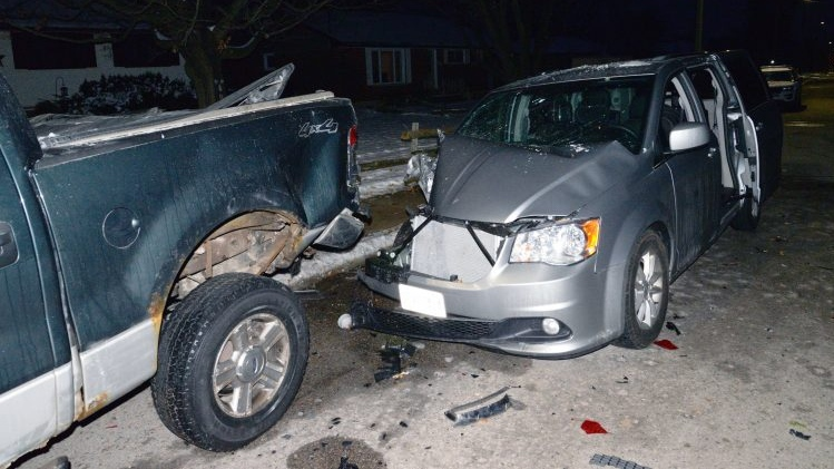 Impaired driving charges crash