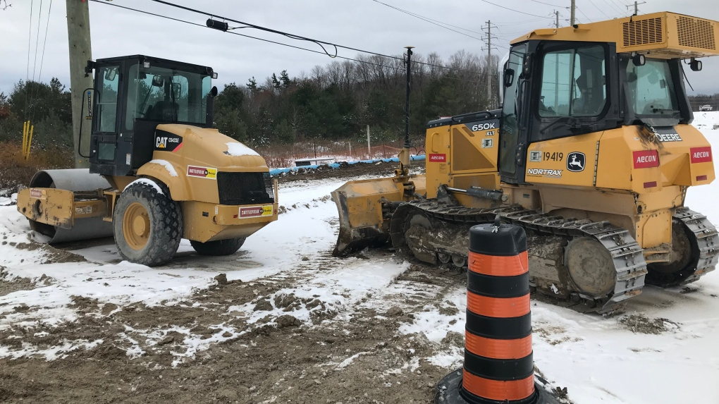 Early blast of winter causes road construction delays