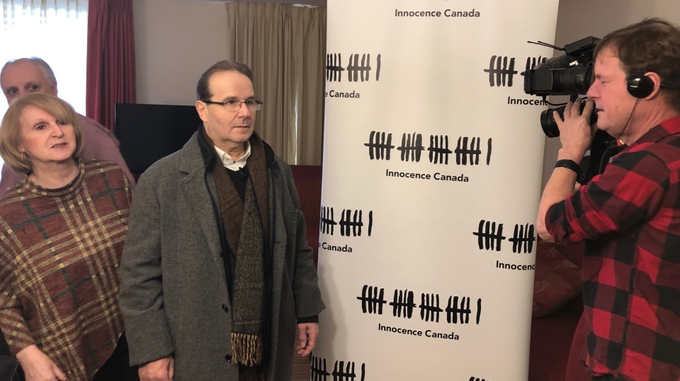 Glen Assoun can be seen at an Innocence Canada event in this undated photo. (Supplied to W5)
