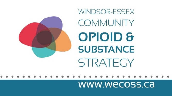 Windsor Essex Community Opioid and Substance Strategy Logo
